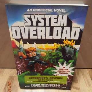 System Overload: Herobrine's Revenge Book Three (A Gameknight999 Adventure)