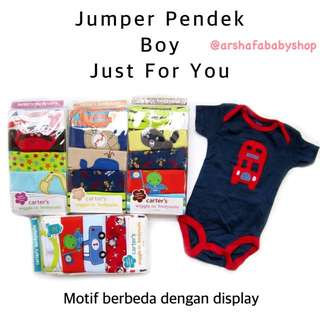 Just For You Jumper Pendek Boy