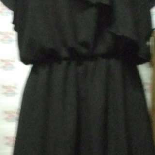Ruffles Dess Black