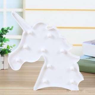 Unicorn LED LAMPU TIDUR WHITE