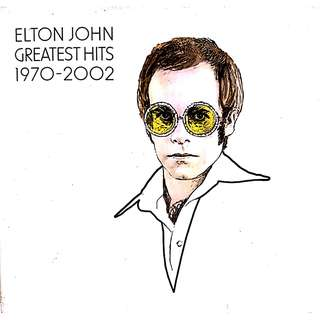 2 CD Elton John's Greatest Hits 1970-2002