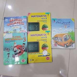 Primary 3 text books
