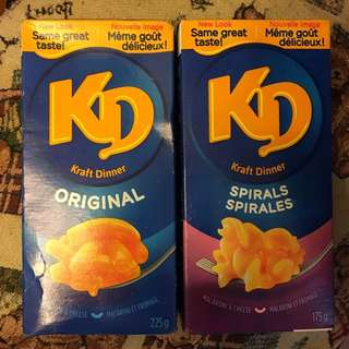 芝士通心粉 Kraft Dinner Macaroni and Cheese 已過Best Before