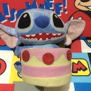 Stitch with holder