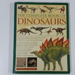 搬屋清貨! The complete book of Dinosaurs $30, 超值! 9成新,正版,只限荃灣mtr, 現金交收。或代寄順豐到付。謝
