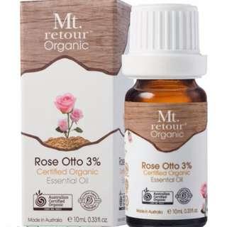 澳洲原裝進口 Mt.retour Rose Otto 有機玫瑰(3%)單方精油