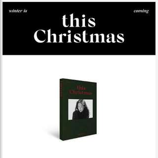 Taeyeon This Christmas Album 😘