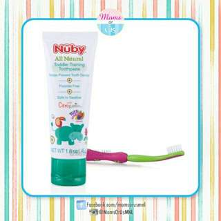 ‼️NEW‼️NÛBY All Natural BabyToddler Training Toothbrush Set