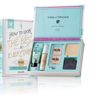"Benefit make up kit ""How to look the best at everything"""