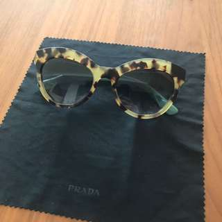 PRADA Tortise Shell Sunglasses