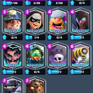 Clash Royale Account With All Legendary