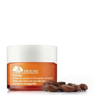 BNIB Origins GinZing™ Refreshing Eye Cream to Brighten and Depuff 15ml