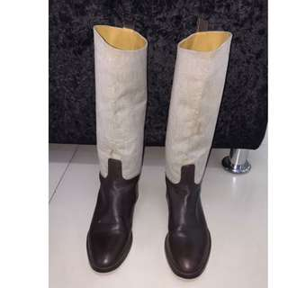 Authentic Hermes Boots