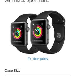 Apple Watch Series 3 - 42mm Space Grey
