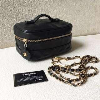 AUTHENTIC CHANEL Vanity Case / Bag