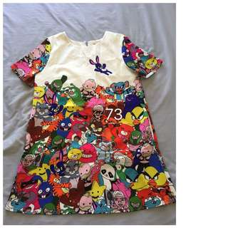 Maternity wear 3 - colourful animal dress