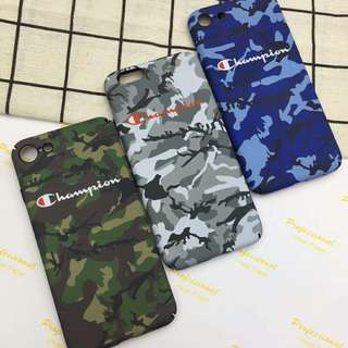 Champion Camouflage Phone Case Cover For iPhone