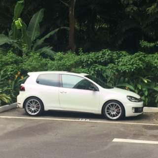 Private car rental / Golf gti