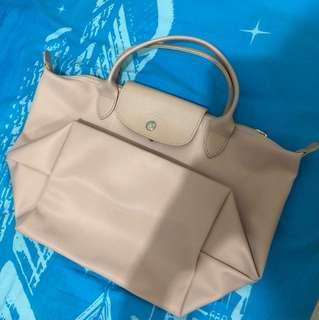 Longchamp 細袋短柄