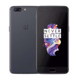 OnePlus 5 64GB Slate Gray Brand New Offer me