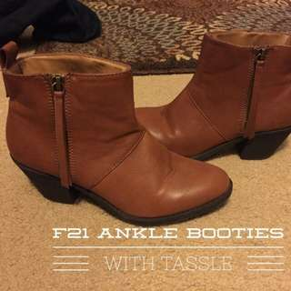 [barter/beli] Forever21 boots ankle leather