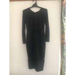Blueetmoi Black dress size 10