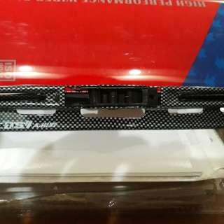 Carbon fibre wiper