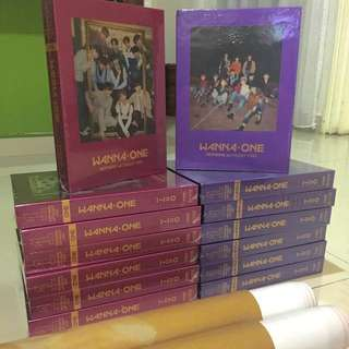 Ready Stock Wanna One Album Nothing Without You Sealed