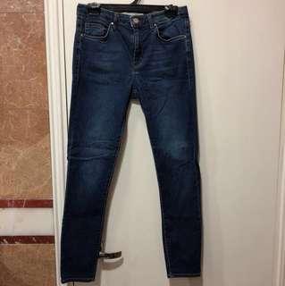 Topshop Leigh indigo jeans
