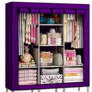 DIY Roll Up Wardrobe Cabinet Organizer
