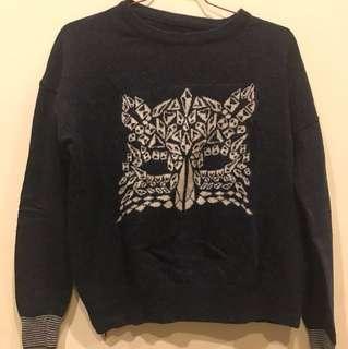 Korean sweater S-M (bought in korea)