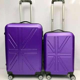 新款旅行箱ABS+PC拉杆箱万向轮学生儿童行李箱密码箱登机箱