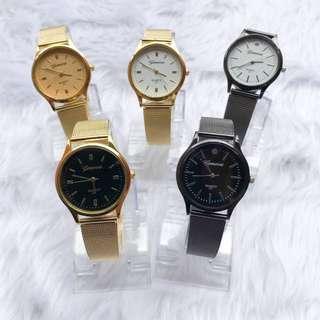 Geneva Metal Watch