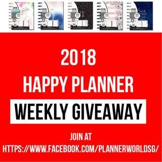 2018 Happy Planner Giveaway