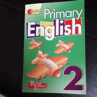 Primary 2 English Book