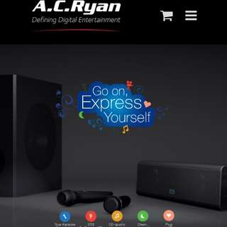 Home Karaoke system - moment a.c. ryan
