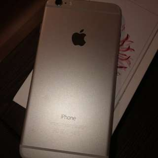 iPhone 6 Plus 16 GB Silver with Box and accessory