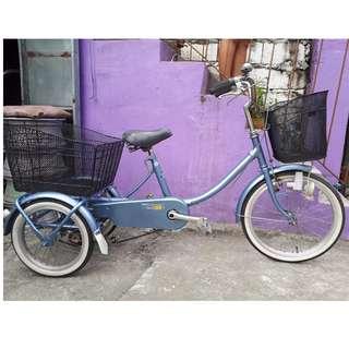 MIYATA 3 WHEELS BICYCLE (NEGOTIABLE PA PO!)