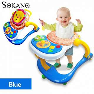 SOKANO 3 in 1 Baby Walker, Baby Dining Seat cum Baby Toddler Walk Assistance
