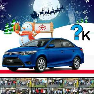 Toyota Batangas City lowest DP for 3k! ( Vios, wigo, avanza, fortuner, hiace commuter, altis!)