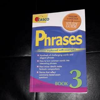 Phrases Primary 3 English Study Guide