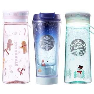 Starbucks Korea Christmas LED Bottle
