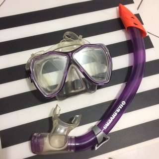 US Divers Snorkeling Goggles Set