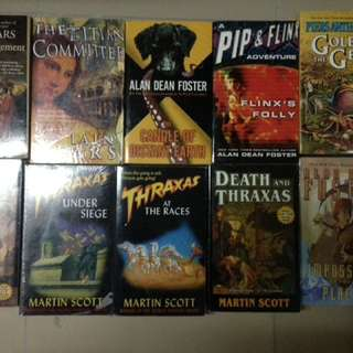 Iain pears Martin Scott piers Anthony books