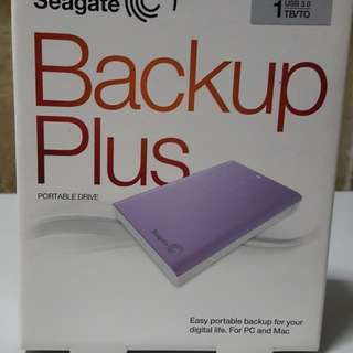 Seagate 1TB portable Drive