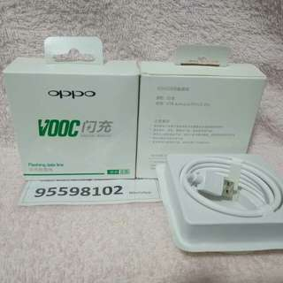 Oppo Flashing Data Line, 100 cm, fast-charge USB cables.
