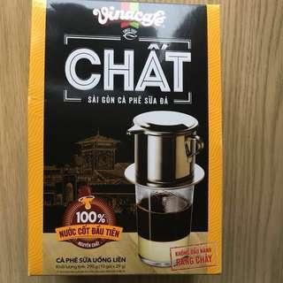 全新 越南暢銷咖啡品牌 Vinacafe coffee 一盒10包