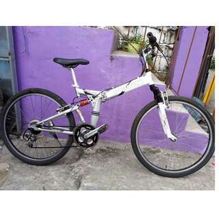 CAPT. STAG ALLOY FOLDABLE MT. BIKE (FREE DELIVERY AND NEGOTIABLE!)