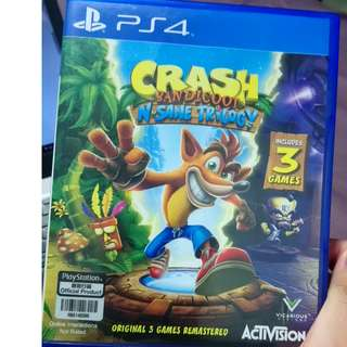 PS4 Crash Bandicoot N-Sane Trilogy (R3)