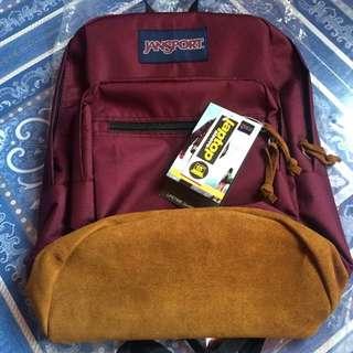 Jansport UNISEX Rightpack leather bottom